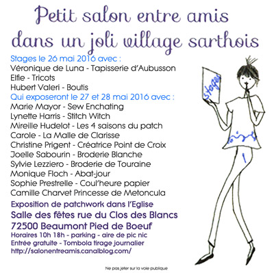 affiche salon Beaumont Pied de Boeuf 2016